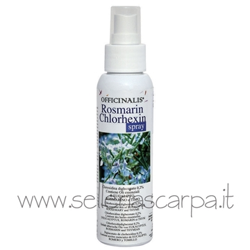 Immagine di COSMESI ROSMARINE CLOREXIDIN SPRAY 125ML OFFICINALIS