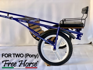 Immagine di JOG CART FOR TWO PONY FREE HORSE