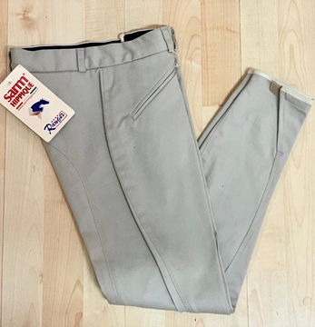 Immagine di PANTALONI BIMBO JUNIOR BEIGE NO GRIP SARM HIPPIQUE