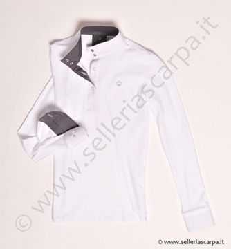 Immagine di POLO CAMICIA DONNA EQUITATUS COLLO FANTASIA