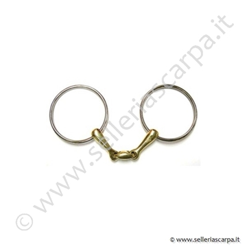 Immagine di FILETTO HERVE' GODIGNON CARAMELLA 14mm ANELLO 90mm