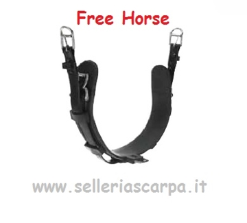 Immagine di SOTTOPANCIA FINIMENTO QH FREE HORSE