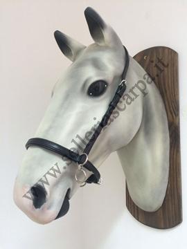 Immagine di CAVEZZINO IN CUOIO CON ANELLI ELITE BY FREE HORSE