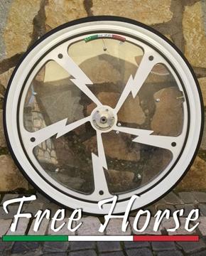 """Immagine di RUOTA FULMINEUS 28"""" ALLUMINIO FREE HORSE"""