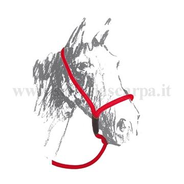 Immagine di CAVEZZONE MAREMMANO IN NYLON INTRECCIATO UMBRIA EQUITAZIONE BR00152