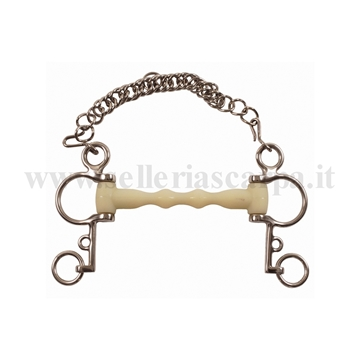 Immagine di PELHAM INOX INTERO HAPPY MOUTH MO00325