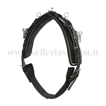 Immagine di FINIMENTO QH HARNESS PRO COMPLETE SYNTHETIC/LEATHER FINN TACK 11108