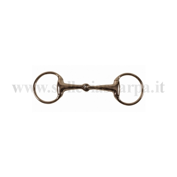 Immagine di FILETTO OLIVA SNOD. INOX PIENO IMB. 21 MM MO00022A