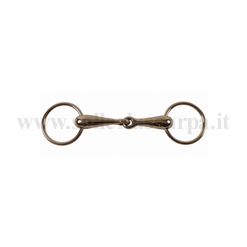 Immagine di FILETTO PONY ANELLI SNOD. INOX PIENO IMB. 21 MM MO00026