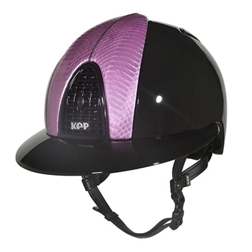 Immagine di CAP CROMO POLISH NERO - SERPENTE PEARL EMPIRE ROSA