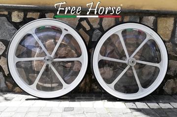 """Immagine di RUOTE 6 RAZZE 28"""" KEN SULKY FREE HORSE"""