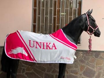 Immagine di COPERTA STAMPATA PERSONALIZZATA FREE HORSE